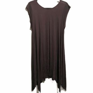 Jella Couture Black Cover Dress Flowing Modal Lg